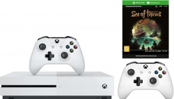 Xbox One S 1TB + второй геймпад + игра Sea of Thieves (код) + XboxLiveGold 1 мес. + GamePass 1 мес. [ZQ9-00048]  [Гарантия: 1 год]