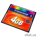Compact Flash 4Gb Transcend  (TS4GCF133) 133-x  [Гарантия: 3 года]