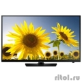 "Samsung 24"" UE24H4070AU черный {HD READY, USB, DVB-T2, 100CMR(RUS)}  [Гарантия: 1 год]"