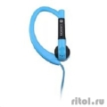 Наушники, Canyon sport earphones, over-ear fixation, inline microphone, blue. (7ACNSSEP1BL)  [Гарантия: 1 год]