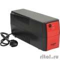 Exegate EP254853RUS ИБП Exegate Power  Back BNB-600  <600VA, Black-Red, 2 евророзетки>  [Гарантия: 1 год]