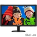 "LCD PHILIPS 23.6"" 243V5QHSBA (00/01) черный {VA LED 1920x1080 8ms 16:9 250cd 178гр/178гр D-Sub DVI HDMI}  [Гарантия: 2 года]"