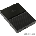 "WD Portable HDD 1Tb My Passport WDBBEX0010BBK-EEUE {USB3.0, 2.5"", black}  [Гарантия: 2 года]"