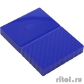 "WD Portable HDD 1Tb My Passport WDBBEX0010BBL-EEUE {USB3.0, 2.5"", blue}  [Гарантия: 2 года]"