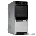 CROWN Корпус Miditower CMC-SM164 black/silver ATX (CM-PS450W smart)
