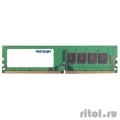 Patriot DDR4 DIMM 4GB PSD44G240041 PC4-19200, 2400MHz  [Гарантия: 3 года]