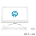 "HP 20-c038ur [1EE38EA] snow white 19.5"" {HD+ Cel J3060/4Gb/500Gb/DVDRW/W10/k+m}  [Гарантия: 1 год]"