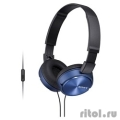 Sony MDR-ZX310AP Blue накладные  [Гарантия: 1 год]