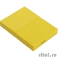 "WD Portable HDD 1Tb My Passport WDBBEX0010BYL-EEUE {USB3.0, 2.5"", yellow}  [Гарантия: 2 года]"