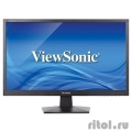 "LCD ViewSonic 23.6"" VA2407H черный {TN LED, 1920x1080, 5 ms, 170°/160°, 250 cd/m, 20M:1, D-Sub, HDMI, DisplayPort}  [Гарантия: 3 года]"