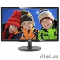 "LCD PHILIPS 19,5"" 206V6QSB6 (10/62) черный {IPS, 1440x900, 14 ms, 178°/178°, 250 cd/m, 10M:1 D-Sub}  [Гарантия: 3 года]"