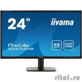 "IIYAMA 23.6"" X2474HS-B1 черный {VA LED 1920x1080 4ms 16:9 250cd 178°/178° HDMI D-Sub DisplayPort}  [Гарантия: 3 года]"