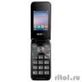 "Alcatel 2051D Metal Silver {2.4""240x320/MP3/FM/BT/16Мб/2MP/microSD/2 sim/Раскладушка} [2051D-3AALRU1]  [Гарантия: 1 год]"