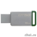 Kingston USB Drive 16Gb DT50/16GB {USB3.1}  [Гарантия: 3 года]