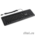 Exegate EX263906RUS Клавиатура Exegate LY-331L, <USB, шнур 2м, черная,  104кл, Enter большой>, Color box             [Гарантия: 1 год]