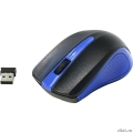 Oklick 485MW black/blue optical (1200dpi) cordless USB (2but) [997826]  [Гарантия: 1 год]