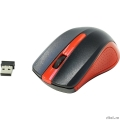 Oklick 485MW black/red optical (1200dpi) cordless USB (2but) [997828]  [Гарантия: 1 год]