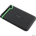 "Transcend Portable HDD 2Tb StoreJet TS2TSJ25M3S {USB 3.0, 2.5"", black-green}  [Гарантия: 2 года]"