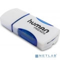 USB 2.0 Card reader CBR Human Friends Speed Rate Impulse Blue  [Гарантия: 5 лет]