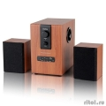 Dialog Progressive AP-150 BROWN - колонки 2.1, 10W+2*5W RMS, USB+SD reader  [Гарантия: 1 год]