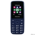 Philips Xenium E125 Blue  [Гарантия: 1 год]