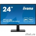 IIYAMA 23.8'' XU2493HSU-B1 черный {IPS 1920х1080 250cd 178/178 1000:1 80М:1 16.7M 4ms D-Sub HDMI DisplayPort USB Tilt Speakers}  [Гарантия: 3 года]