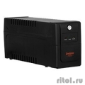 Exegate EP285538RUS ИБП ExeGate Power Back BNB-600.LED.AVR.C13.RJ <600VA/360W, LED, AVR,4*IEC-C13, RJ45/11, Black>  [Гарантия: 1 год]