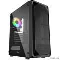 Powercase CMIZB-L1 Корпус Mistral Z1 Mesh LED, Tempered Glass, 1x 120mm 5-color fan, чёрный, ATX  (CMIZB-L1)  [Гарантия: 1 год]
